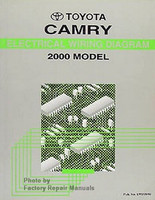 Toyota Camry Electrical Wiring Diagrams 2000 Model