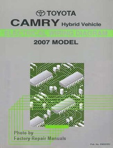 2007 Toyota Camry Hybrid Electrical Wiring Diagrams ...