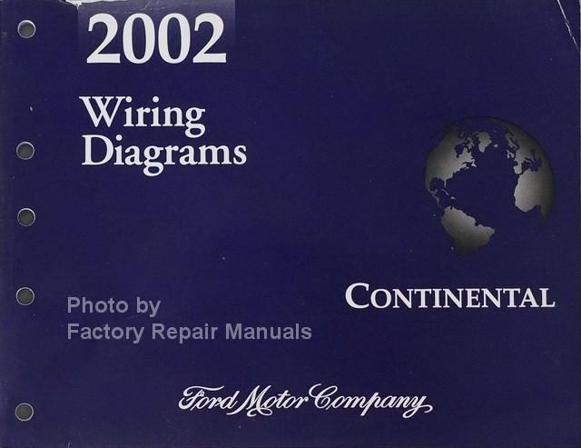 1999 lincoln continental wiring diagram manual original