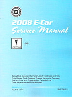 2008 Pontiac G8 Factory Service Manual 4 Volume Set - Original Shop Repair