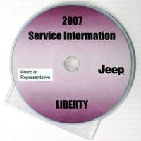 2007 Jeep Liberty Factory Service Manual CD-ROM Original Shop Repair
