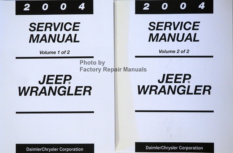 jeep wrangler factory service manual
