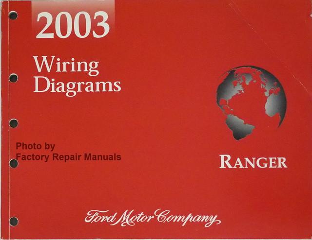 2003 Ford Ranger Pickup Truck Electrical Wiring Diagrams Original Factory Manual