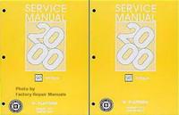 2000 Oldsmobile Intrigue Factory Service Manual Set - Original Shop Repair