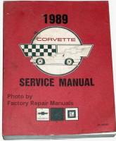 1989 Chevrolet Corvette Service Manual