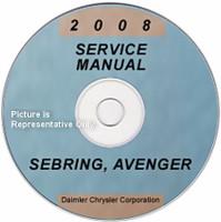 2008 Service Manual Sebring Avenger