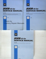 GM 2009 KS-Car Service Manual Cadillac DTS Volume 1, 2, 3