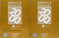 2000 Cadillac Catera Factory Service Manuals