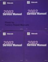 Cadillac Eldorado 2002 Service Manual Volume 1A, 2A, 1B, 2B