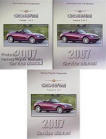 2007 Chrysler Crossfire Factory Service Manuals