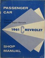 1961 Chevy Passenger Car Shop Manual