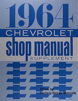 1964 Chevrolet Bel Air, Biscayne, Impala Factory Shop Manual