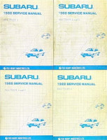 1988 Subaru Factory Service Manuals