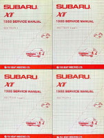 1988 Subaru XT Factory Service Manuals
