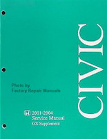 2001-2004 Honda Civic GX Service Manual Supplement