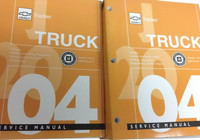 2004 Chevy Tracker Factory Service Repair Manual 2 Volume Set Original
