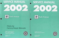 2002 Buick Park Avenue Service Manuals