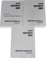 2000 Infiniti G20 Service Manuals