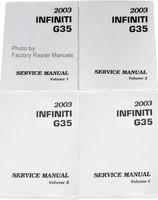 2003 Infiniti G35 Coupe Service Manuals