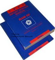 1993 Dodge Ram 50 Pickup Factory Service Manual Set Original Shop Repair
