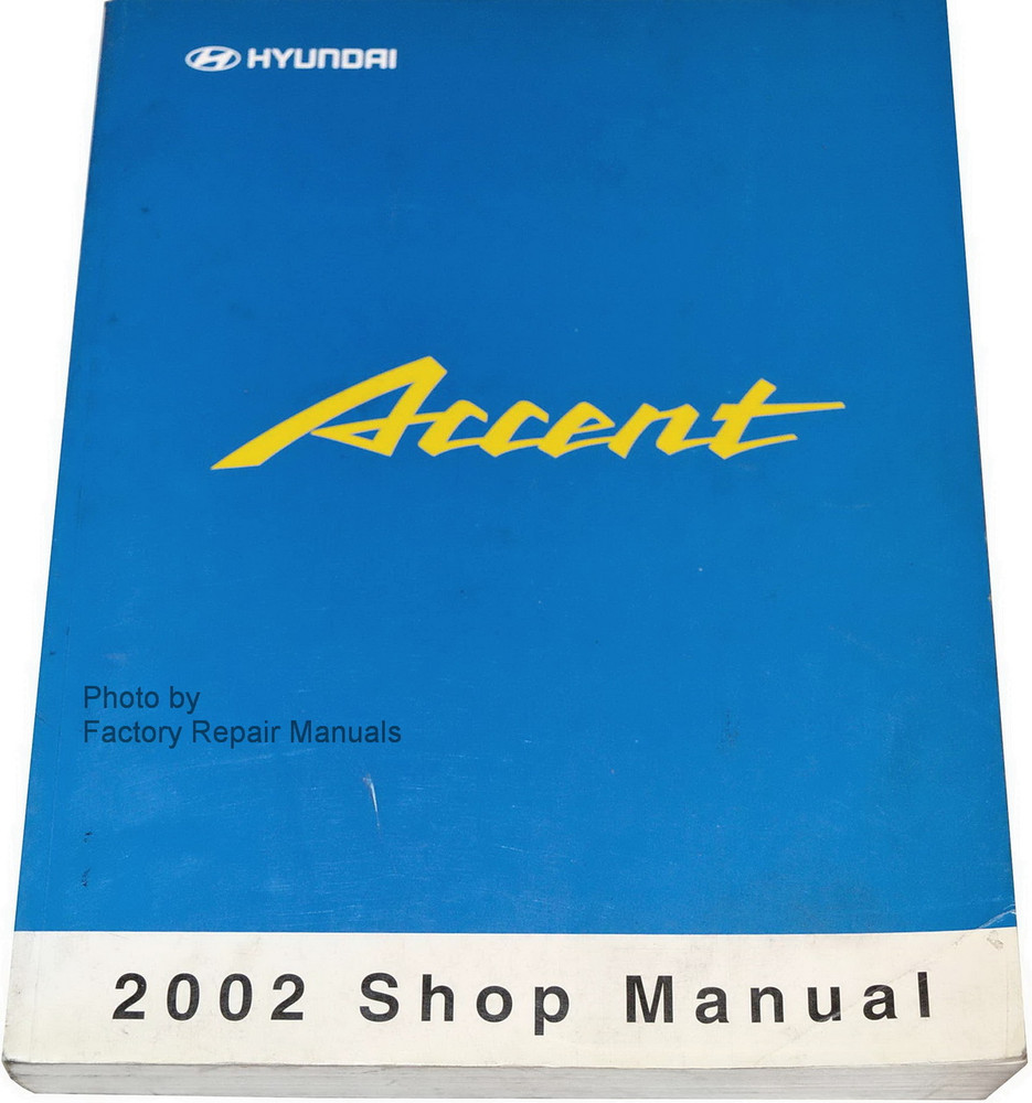 Service manual hyundai accent pdf book db