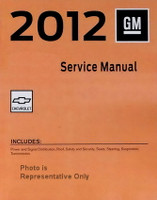 2012 Chevy Caprice Police Patrol Vehicle Service Manuals