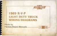 1989 Chevrolet Light Duty Truck Van Wiring Diagrams