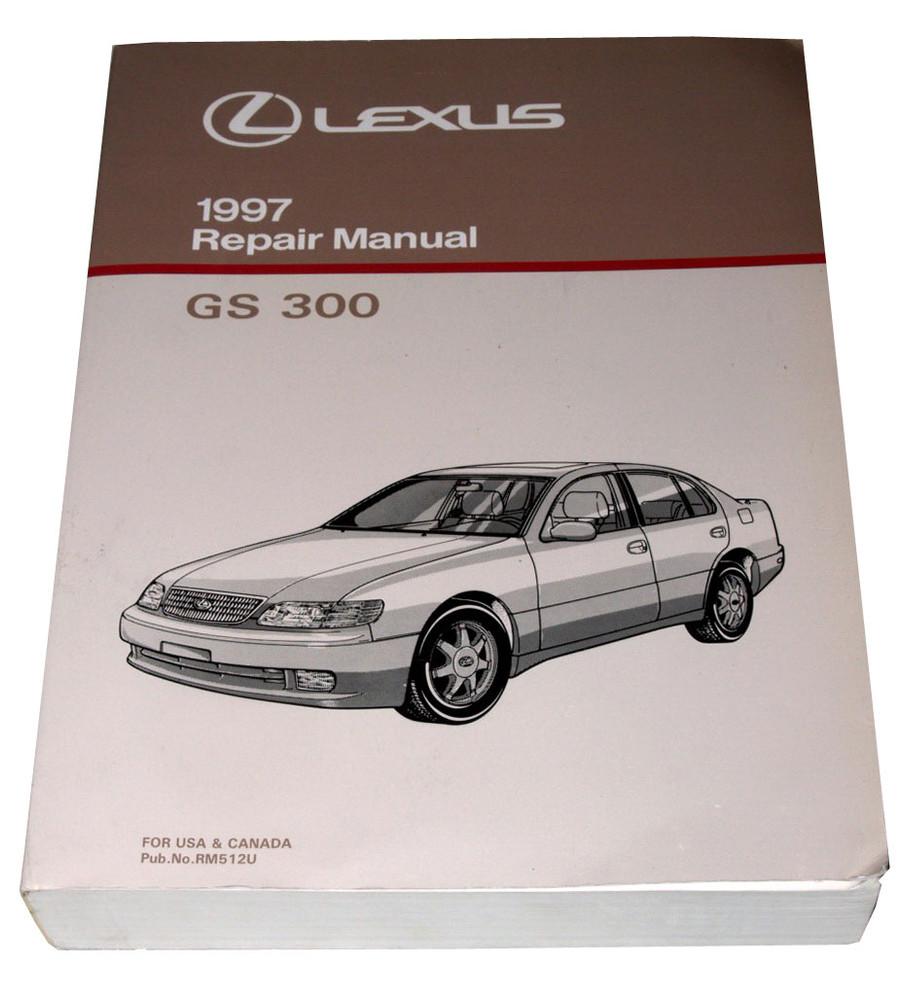 1997 lexus gs300 factory service manual gs 300 shop repair. Black Bedroom Furniture Sets. Home Design Ideas