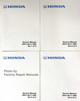 2007-2011 Honda CR-V Service Manual Factory Reprint