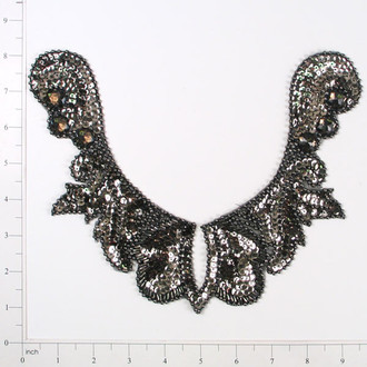 Cleo Collar Sequin Applique