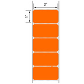 2x1 LABELS, Floodcoated Topcoated Direct Thermal ( Item#: BD211375OR )