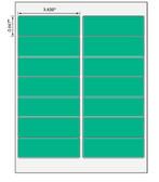 3.438x.667, EDP Laser Sheets ( Item#: BL34380667GR )