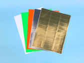 2.625x1, EDP Laser Sheets ( Item#: BL2625130SLV )