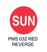 "1.5"" DIAM. CIRCLE, Inventory Control Labels ""Sunday"" Thermal Transfer ( Item#: MP15CIRSUN )"