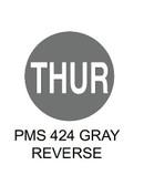 "1.5"" DIAM. CIRCLE, Inventory Control Labels ""Thursday"" Thermal Transfer ( Item#: MP15CIRTHUR )"