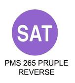 "1.5"" DIAM. CIRCLE, Inventory Control Labels ""Saturday"" Thermal Transfer ( Item#: MP15CIRSAT )"