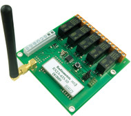 KDEC -Code hopping receiver with up to 5 relay outputs
