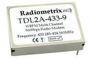 TDL2A UHF Multi Channel Transparent Data Link Transceiver