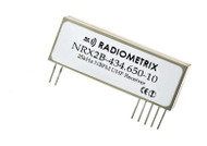 NRX2B-UHF Narrow Band single channel  FM Receiver  Frequencies 434.075MHz , 434.650MHz, 458.700MHz