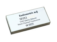 SHX1- 500mW Multichannel VHF transceiver Frequency any 3MHz segment in 140 - 175MHz