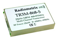 TR3M- Narrow Band FM Multi-channel UHF Transceiver 868MHz band