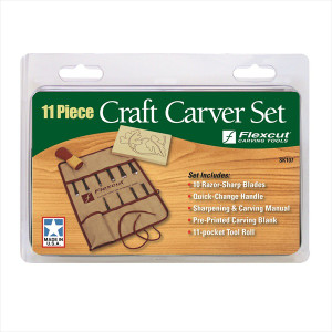 Flexcut SK107 11pc Craft Carver Set