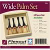 Flexcut FR404 Wide-Format Palm Set
