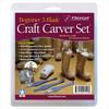 Flexcut SK110 Beginner 3 Blade Craft Carver Set