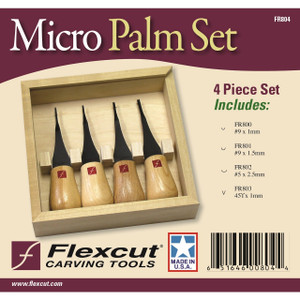 Flexcut FR804 Micro Palm Set