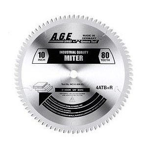 "Amana MD10-806C 10"" x 80t  4+1 TCG Heavy Miter Blade 5/8 Bore"