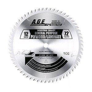 "Amana MD12-721C 12"" x 72t Plywood/Laminate Blade 1"" Bore"