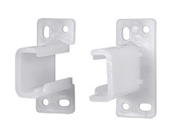 Euro Back Bracket for 3/4 Extension Drawer Guides