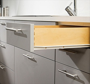 "Harn 22"" 3/4 Extension Euro Drawer Slides"