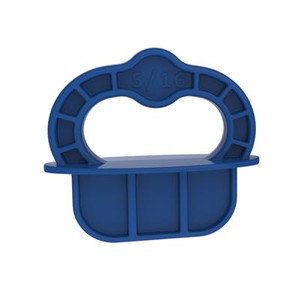 "Kreg Deck Jig Spacer Rings - Blue - 5/16"" - 12 Pk"